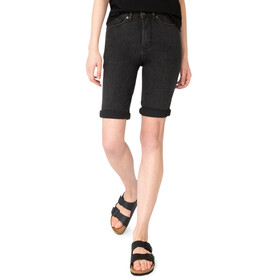 DUER Performance Denim Commuter Pantaloncini Donna, black 75